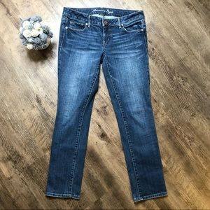 American eagle stretch jeans skinny  size 10 short